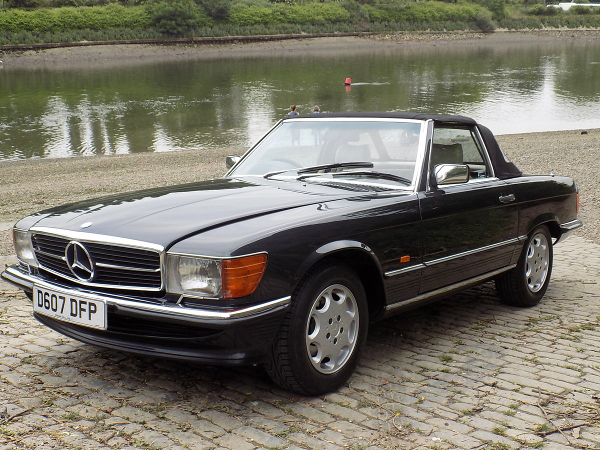 1986 MERCEDES BENZ 420 SL (R107 Series) SPORTS CONVERTIBLE For Sale (picture 6 of 6)