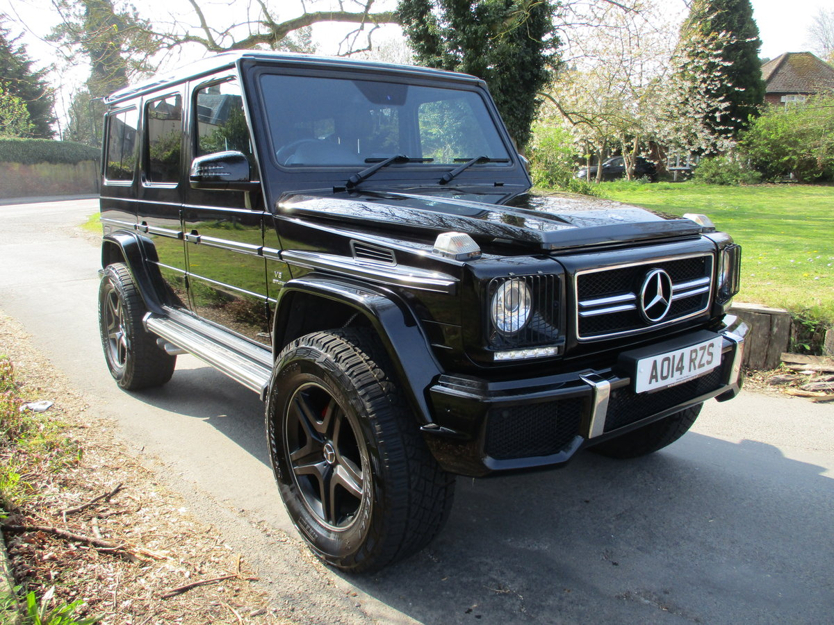 Mercedes G63 AMG 2014/14 18600 Miles Fully Loaded For Sale (picture 1 of 12)