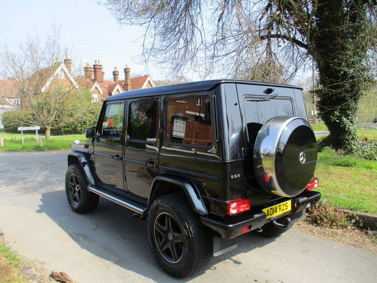 Mercedes G63 AMG 2014/14 18600 Miles Fully Loaded For Sale (picture 4 of 12)