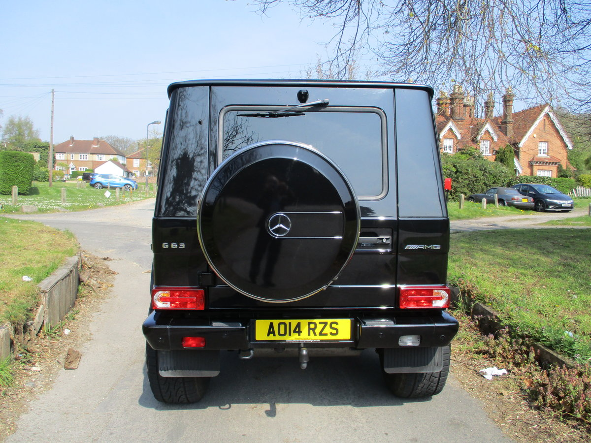 Mercedes G63 AMG 2014/14 18600 Miles Fully Loaded For Sale (picture 5 of 12)