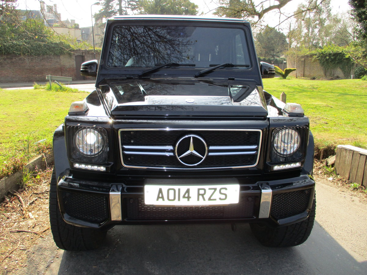 Mercedes G63 AMG 2014/14 18600 Miles Fully Loaded For Sale (picture 7 of 12)