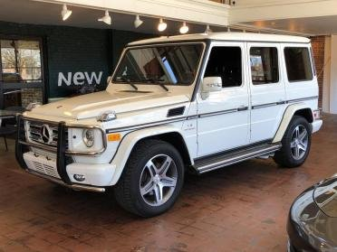 2010 Mercedes G55 AMG = AWD SUV  Ivory(~)Black  $65.9k For Sale