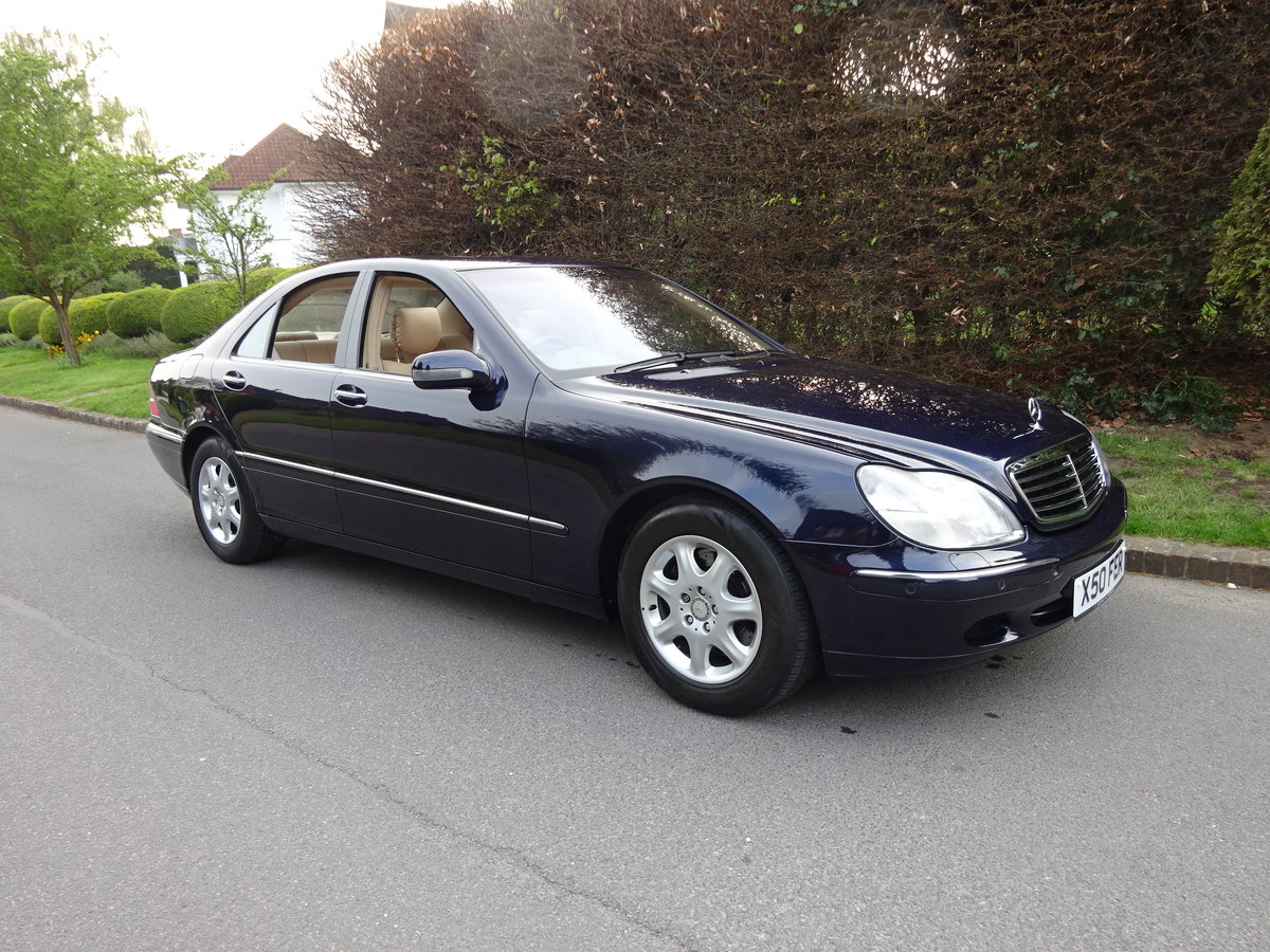2001 MERCEDES-BENZ S500  13,000 miles only For Sale (picture 1 of 6)