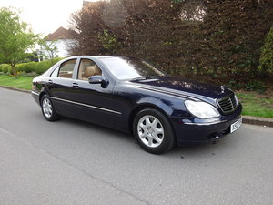 2001 MERCEDES-BENZ S500  13,000 miles only For Sale