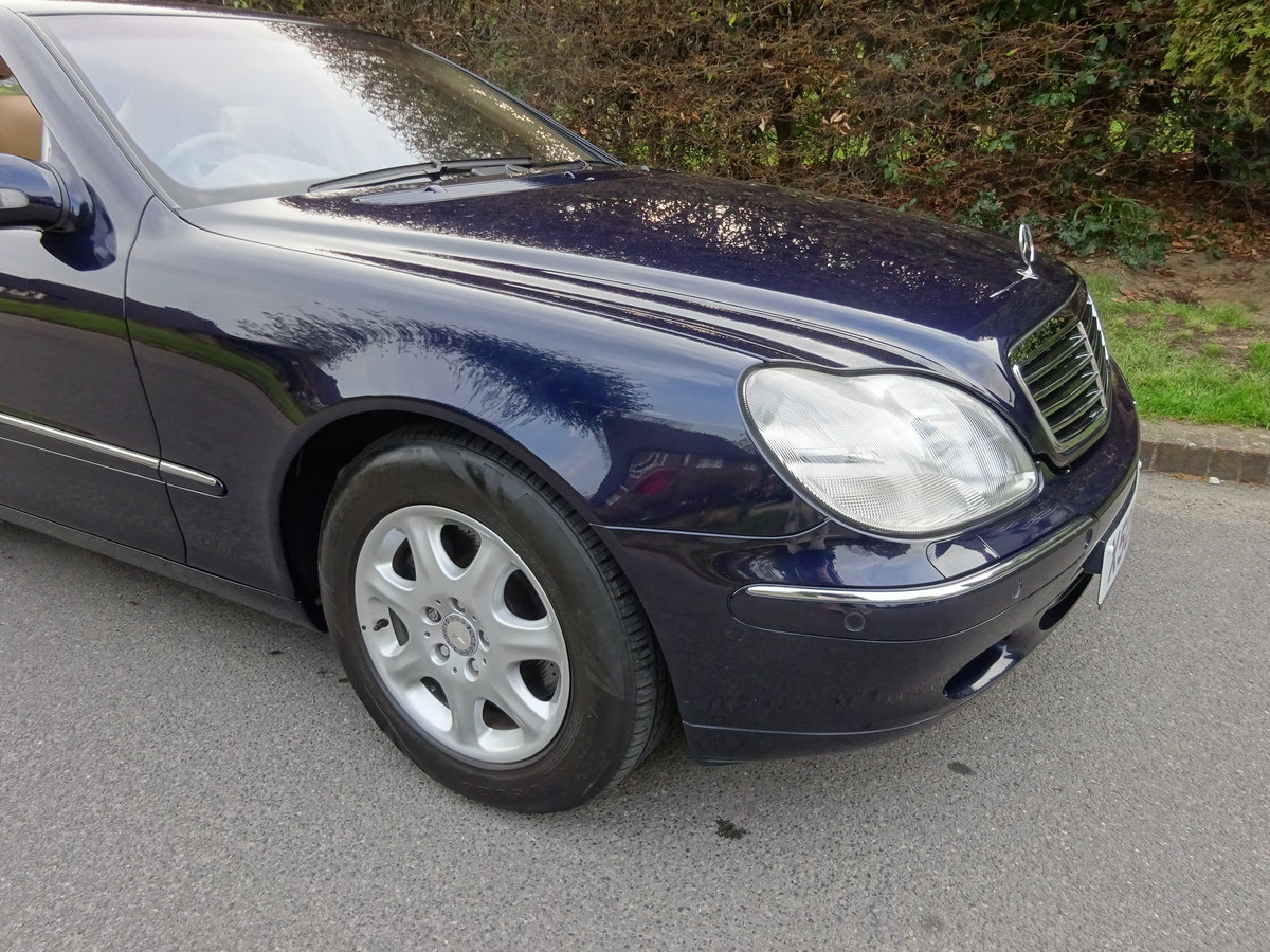 2001 MERCEDES-BENZ S500  13,000 miles only For Sale (picture 2 of 6)
