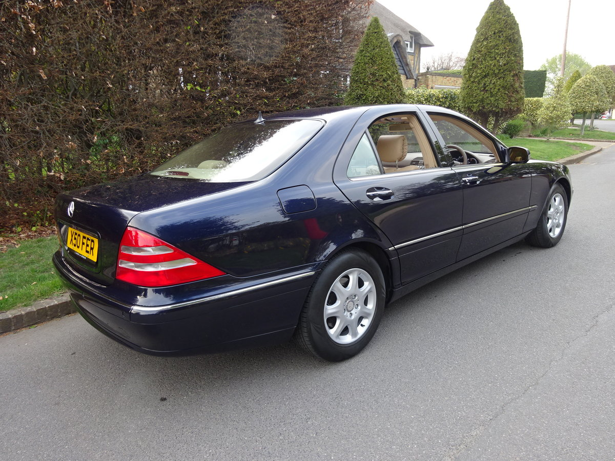 2001 MERCEDES-BENZ S500  13,000 miles only For Sale (picture 3 of 6)