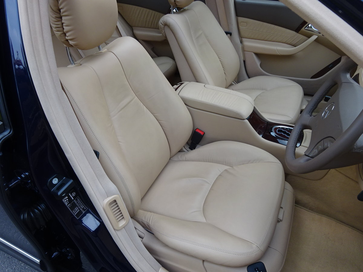 2001 MERCEDES-BENZ S500  13,000 miles only For Sale (picture 4 of 6)