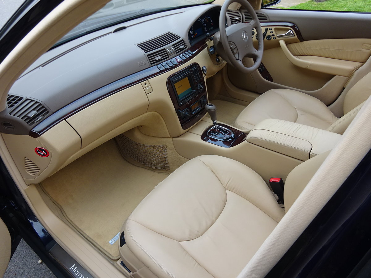 2001 MERCEDES-BENZ S500  13,000 miles only For Sale (picture 5 of 6)