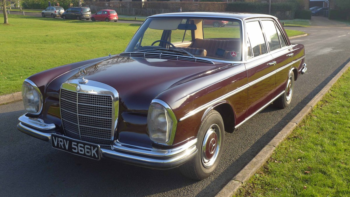 1972 280se / W108 / Excellent Condition For Sale (picture 5 of 6)