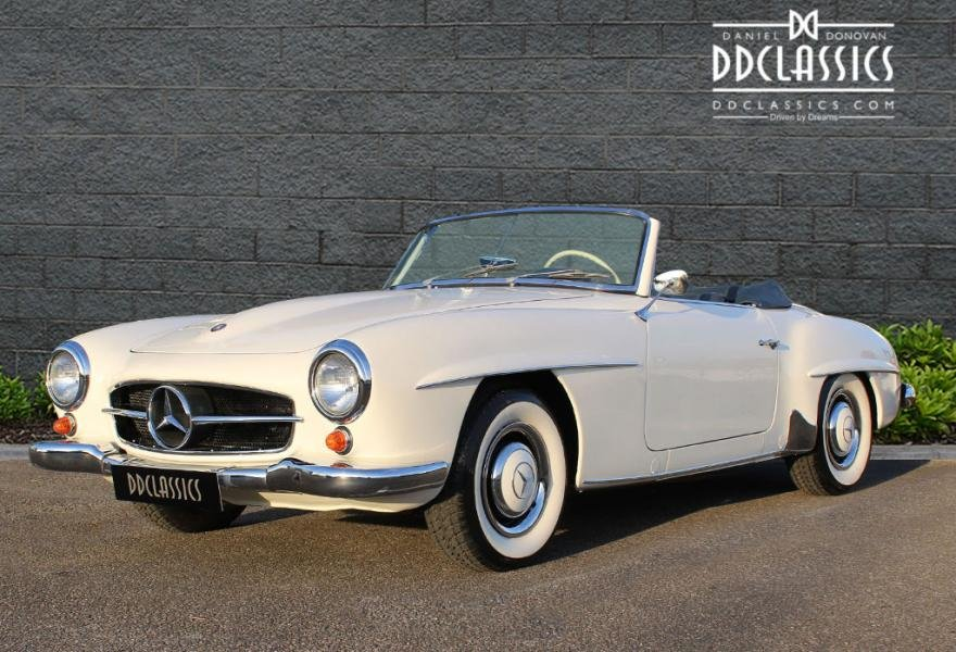 1962 Mercedes 190 SL Roadster (LHD) for sale in London For Sale (picture 1 of 12)