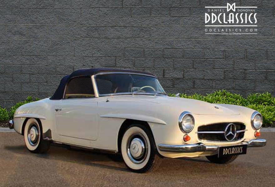 1962 Mercedes 190 SL Roadster (LHD) for sale in London For Sale (picture 6 of 12)