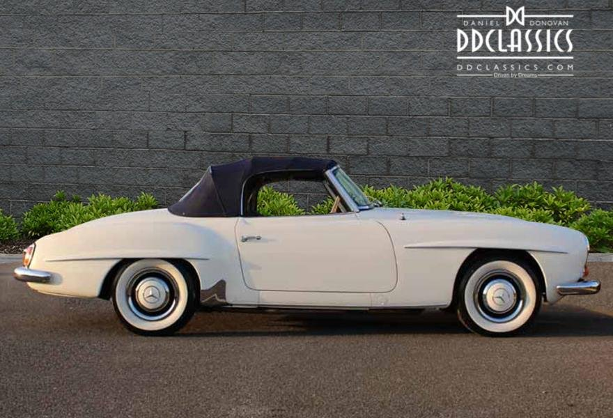 1962 Mercedes 190 SL Roadster (LHD) for sale in London For Sale (picture 7 of 12)