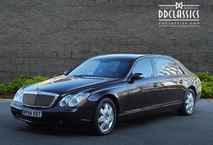 2004 Maybach 62 (RHD) for sale in London For Sale