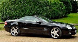 2006 Stunning Black on Black SL 350