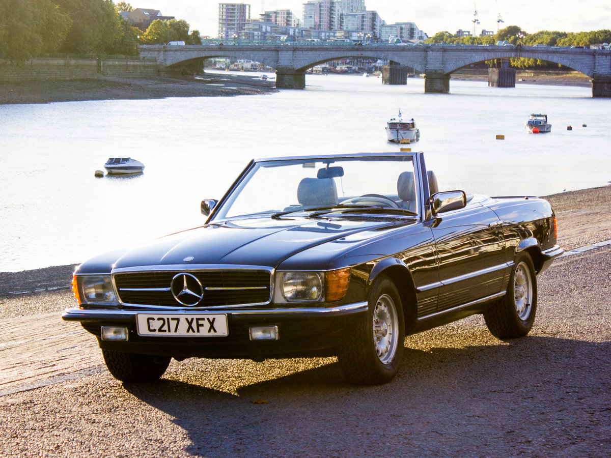 1985 Mercedes-Benz 500SL - LHD, AC, Heated Seats, 45k Miles For Sale (picture 1 of 6)