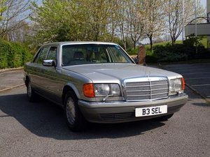 1988 Mercedes-Benz 560 SEL For Sale by Auction