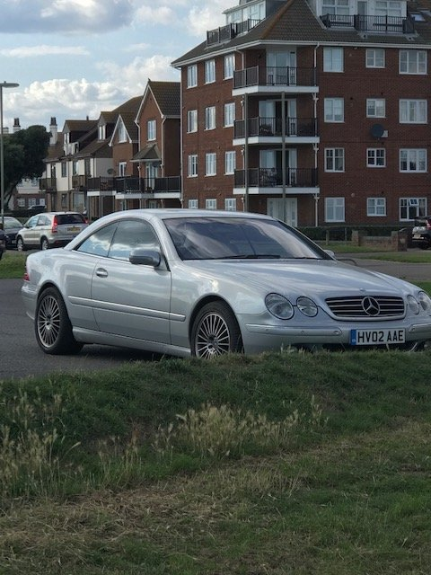 2002 Modern classic CL500 (Low Mileage) For Sale (picture 1 of 5)