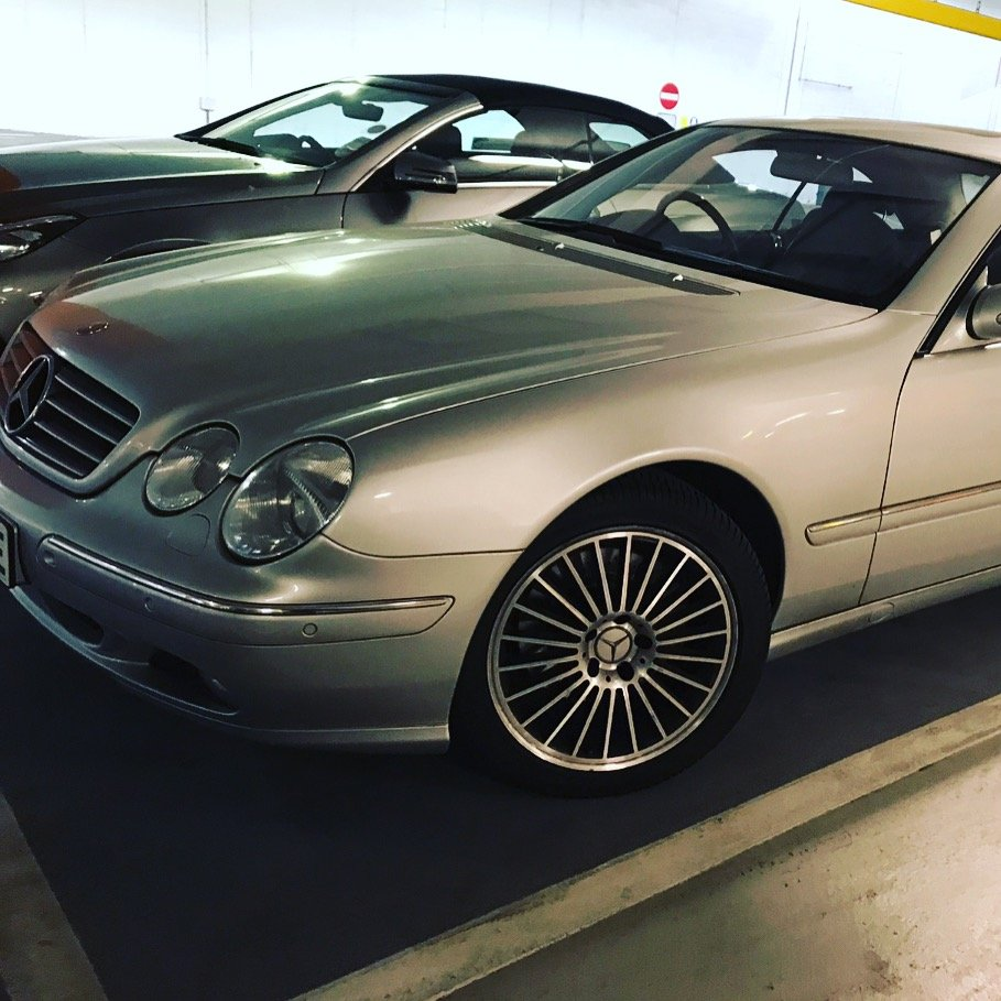 2002 Modern classic CL500 (Low Mileage) For Sale (picture 4 of 5)