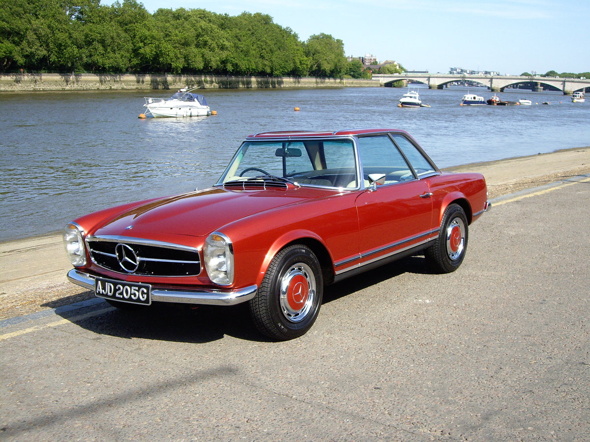 Mercedes-Benz 250/280SL Pagoda - Exceptional Cars Wanted For Sale (picture 1 of 1)