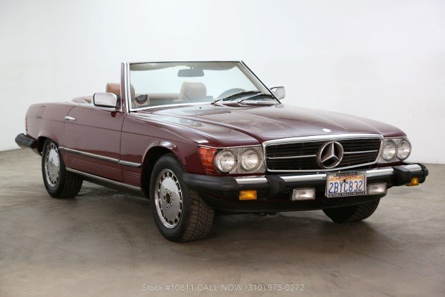 1985 Mercedes-Benz 380SL With 2 Tops For Sale (picture 1 of 6)