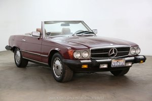 1985 Mercedes-Benz 380SL With 2 Tops For Sale