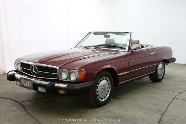 1985 Mercedes-Benz 380SL With 2 Tops For Sale (picture 3 of 6)