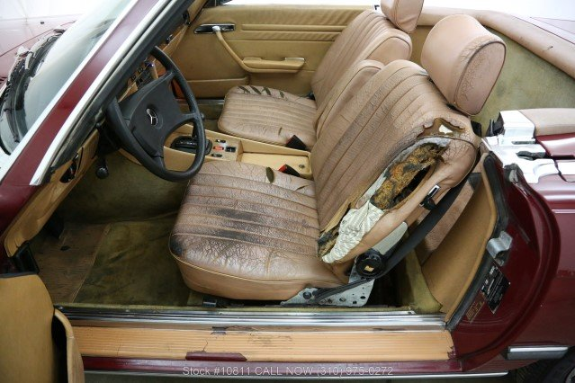 1985 Mercedes-Benz 380SL With 2 Tops For Sale (picture 4 of 6)
