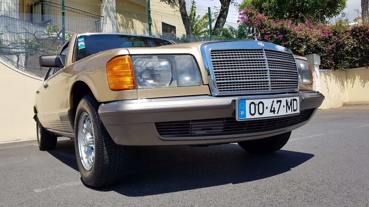 1982 MB (W126) 380SE  71000 Kms (44,400 Mls) from new For Sale (picture 1 of 6)