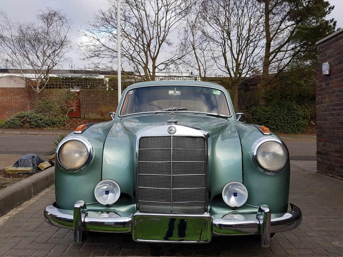 Mercedes-Benz 220s Ponton (1957) For Sale (picture 1 of 6)
