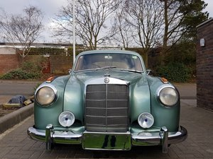 Mercedes-Benz 220s Ponton (1957) For Sale