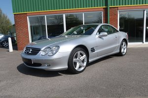 2003 Beautiful Mercedes SL500 V8 Auto With Low Mileage  SOLD