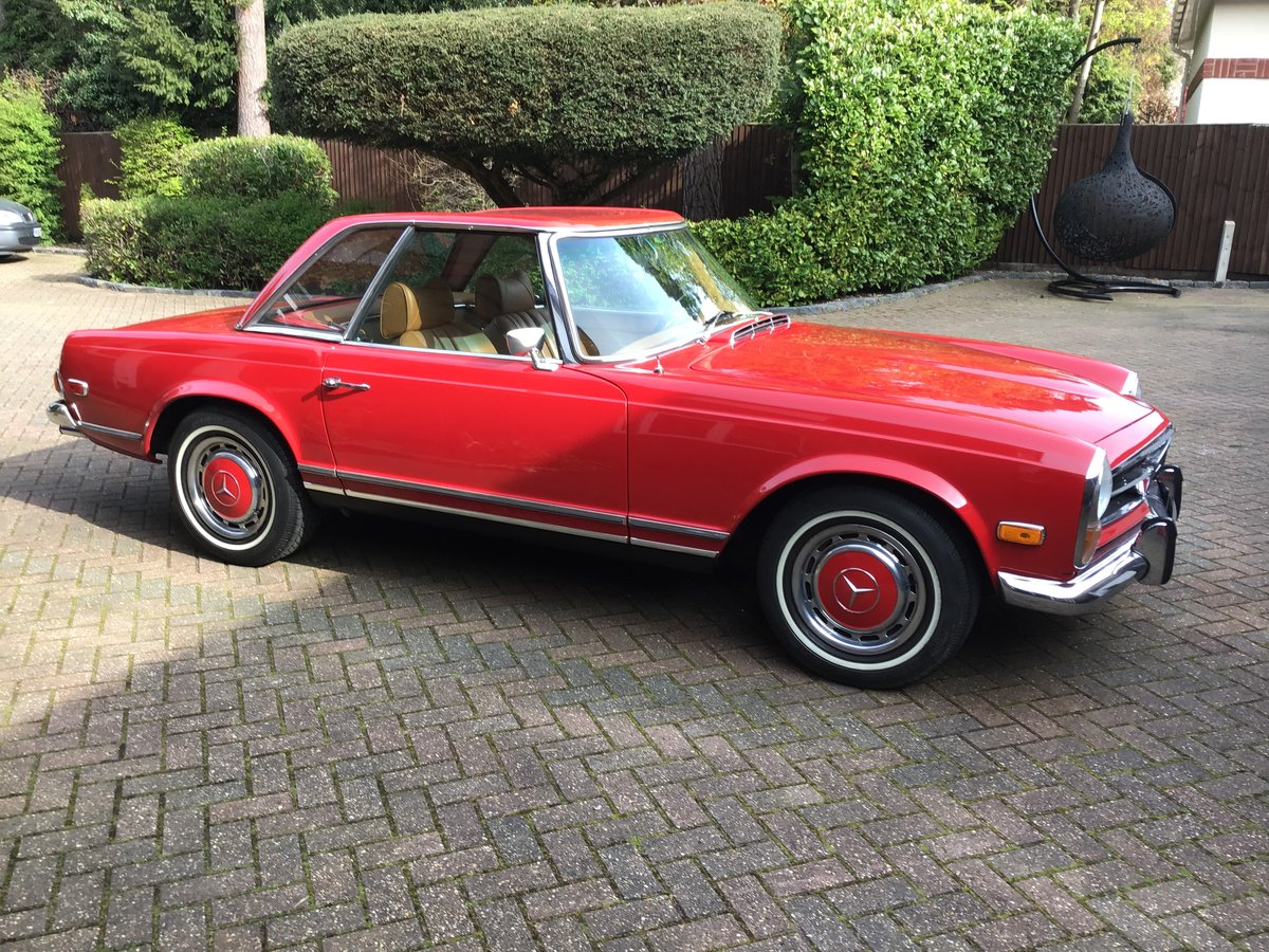 1969 Mercedes 280SL Pagoda For Sale (picture 1 of 6)