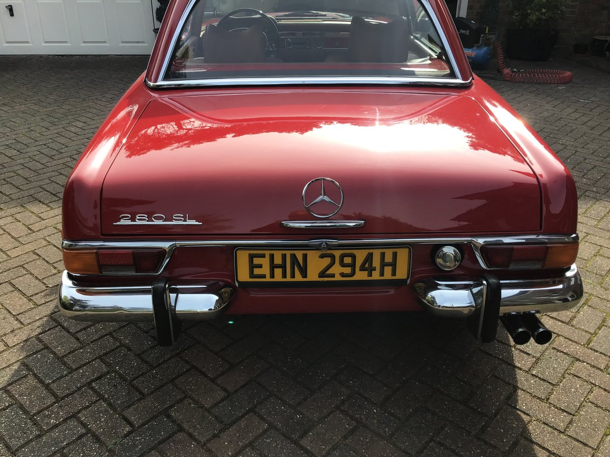 1969 Mercedes 280SL Pagoda For Sale (picture 3 of 6)