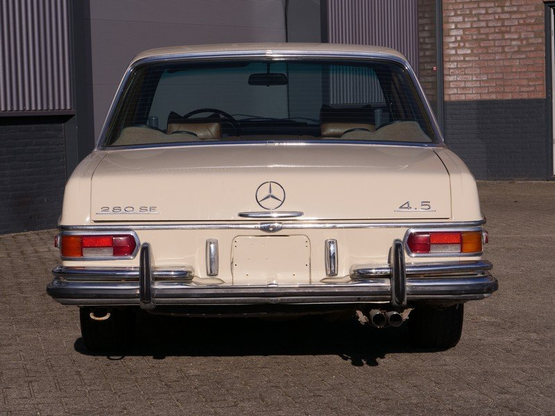 1972 Mercedes Benz 280SE 4.5 with AC For Sale (picture 6 of 6)