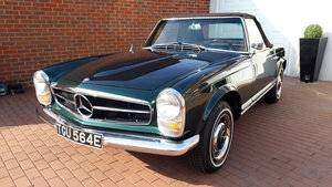 1967 230sl Rare California black plate 2 tops For Sale