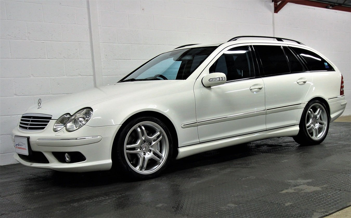 2005 Mercedes C55 AMG Estate,37,453 miles For Sale (picture 2 of 6)