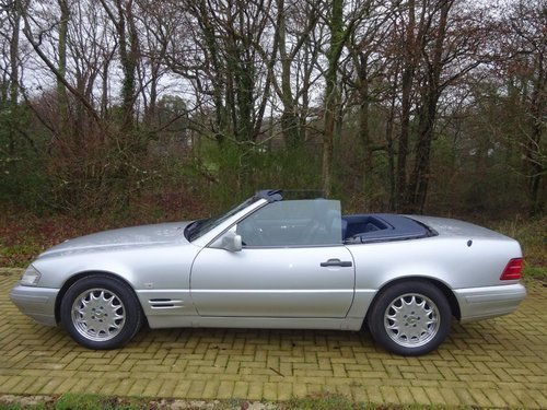 1996 Mercedes SL500 - Just 25,305 miles from new. For Sale (picture 6 of 6)