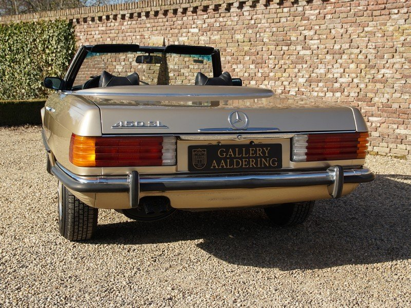 1973 Mercedes Benz 450SL W107 only 65.422 miles For Sale (picture 6 of 6)