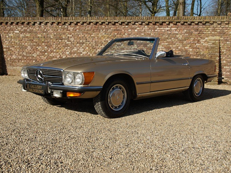 1973 Mercedes Benz 450SL W107 only 65.422 miles For Sale (picture 1 of 6)