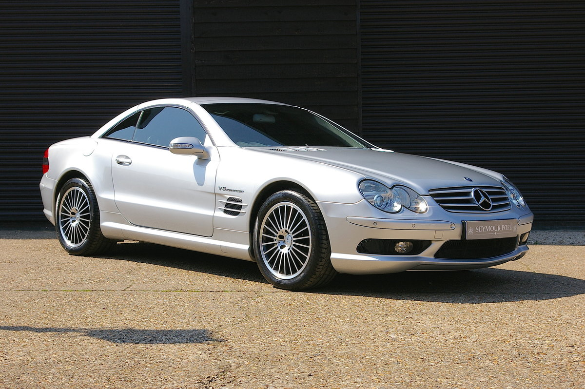 2003 Mercedes Benz SL55 AMG 5.5 V8 Kompressor Auto (55,301 miles) For Sale (picture 1 of 6)