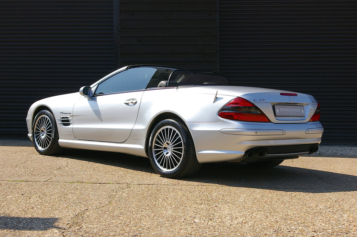 2003 Mercedes Benz SL55 AMG 5.5 V8 Kompressor Auto (55,301 miles) For Sale (picture 3 of 6)