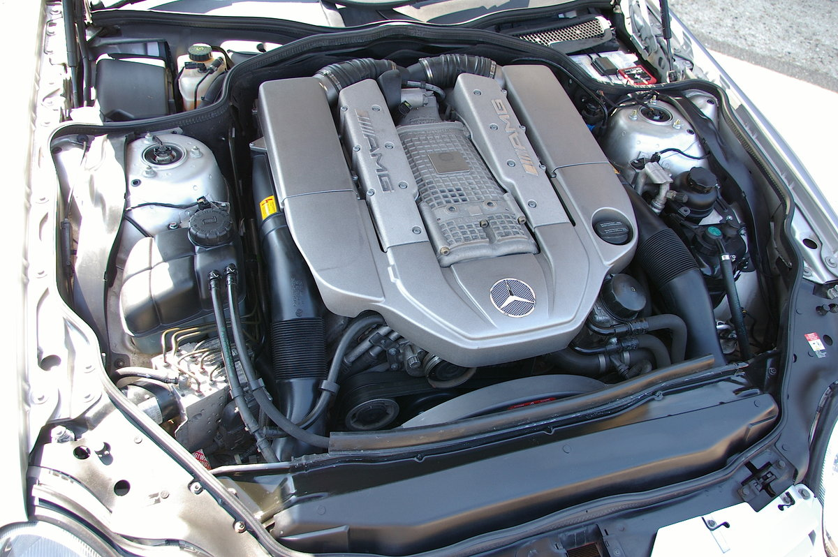 2003 Mercedes Benz SL55 AMG 5.5 V8 Kompressor Auto (55,301 miles) For Sale (picture 6 of 6)