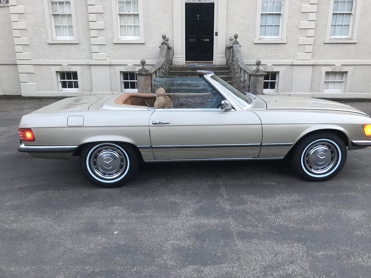 1973 MERCEDES SL450,USA IMPORT,RUST FREE,LHD,AUTO. For Sale (picture 1 of 6)
