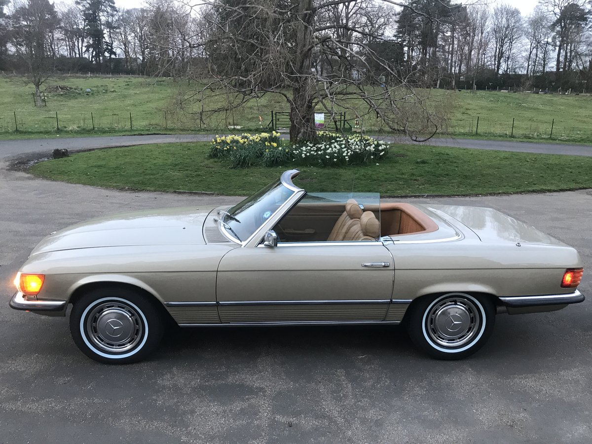1973 MERCEDES SL450,USA IMPORT,RUST FREE,LHD,AUTO. For Sale (picture 2 of 6)