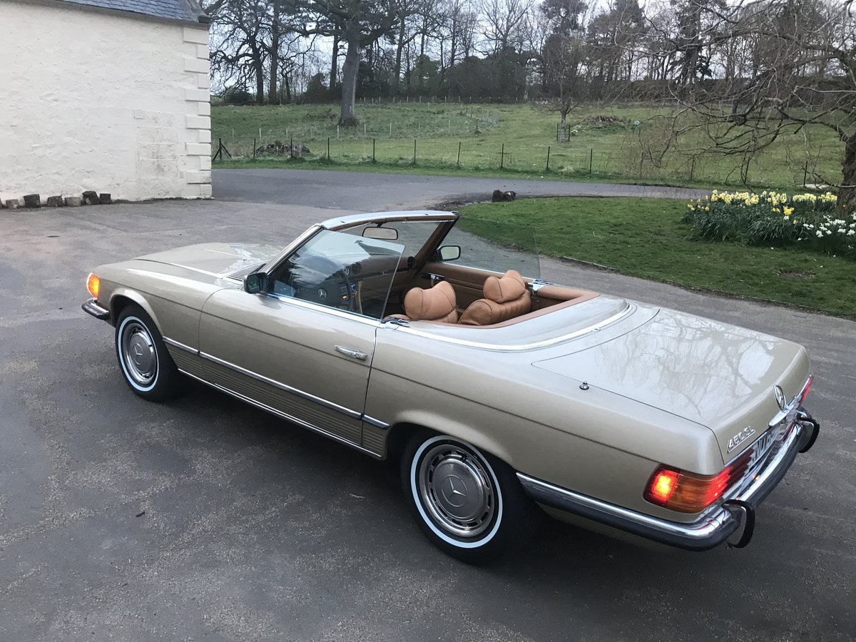 1973 MERCEDES SL450,USA IMPORT,RUST FREE,LHD,AUTO. For Sale (picture 4 of 6)