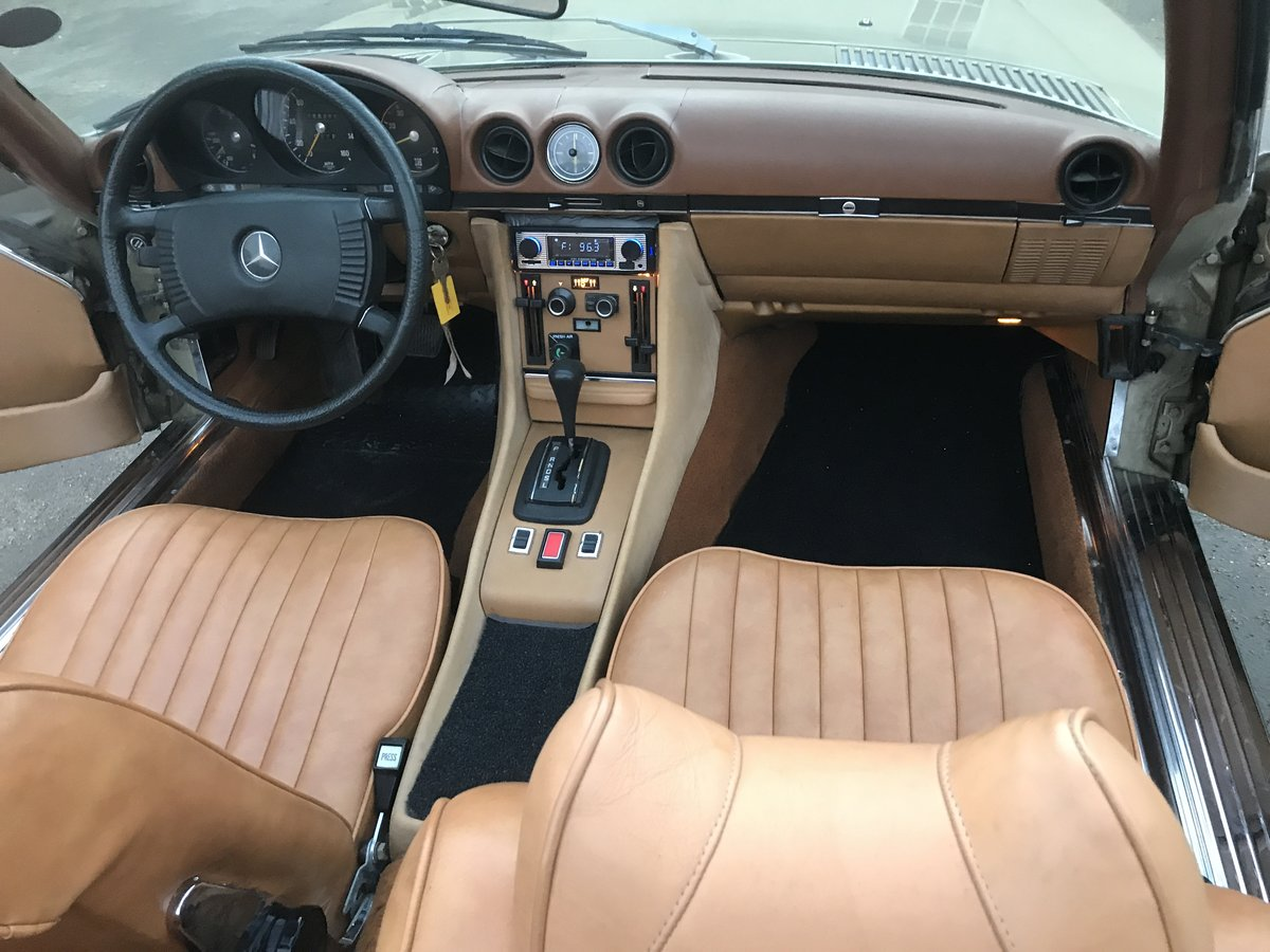 1973 MERCEDES SL450,USA IMPORT,RUST FREE,LHD,AUTO. For Sale (picture 5 of 6)