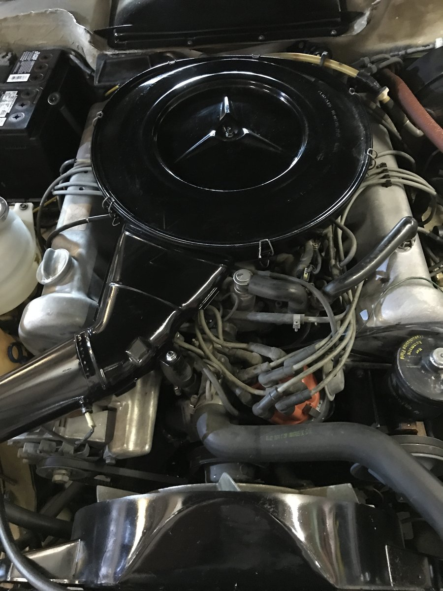 1973 MERCEDES SL450,USA IMPORT,RUST FREE,LHD,AUTO. For Sale (picture 6 of 6)