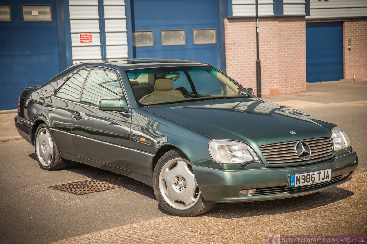 1995 Mercedes-Benz S500 5.0 V8 c140 [315] (cl500 w140) For Sale (picture 1 of 6)