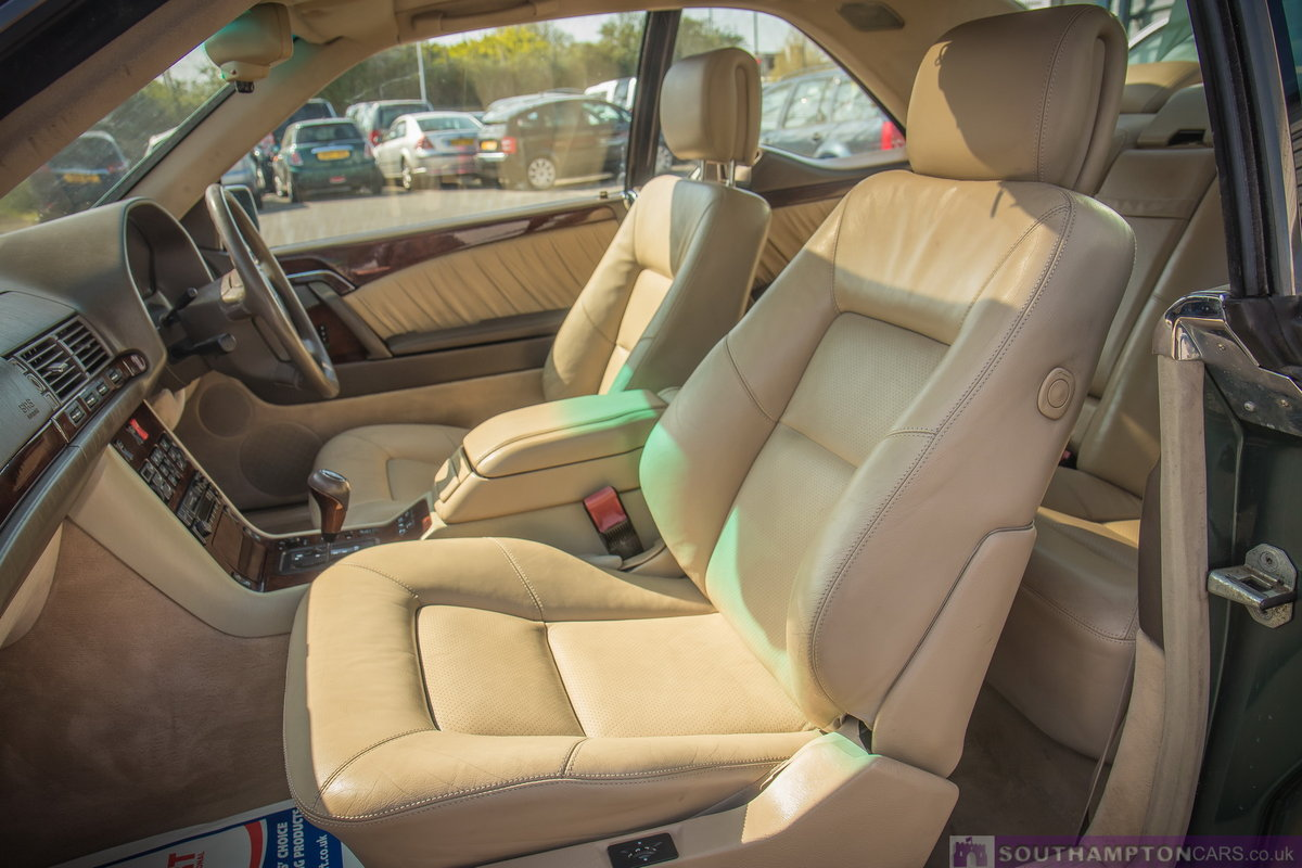 1995 Mercedes-Benz S500 5.0 V8 c140 [315] (cl500 w140) For Sale (picture 2 of 6)