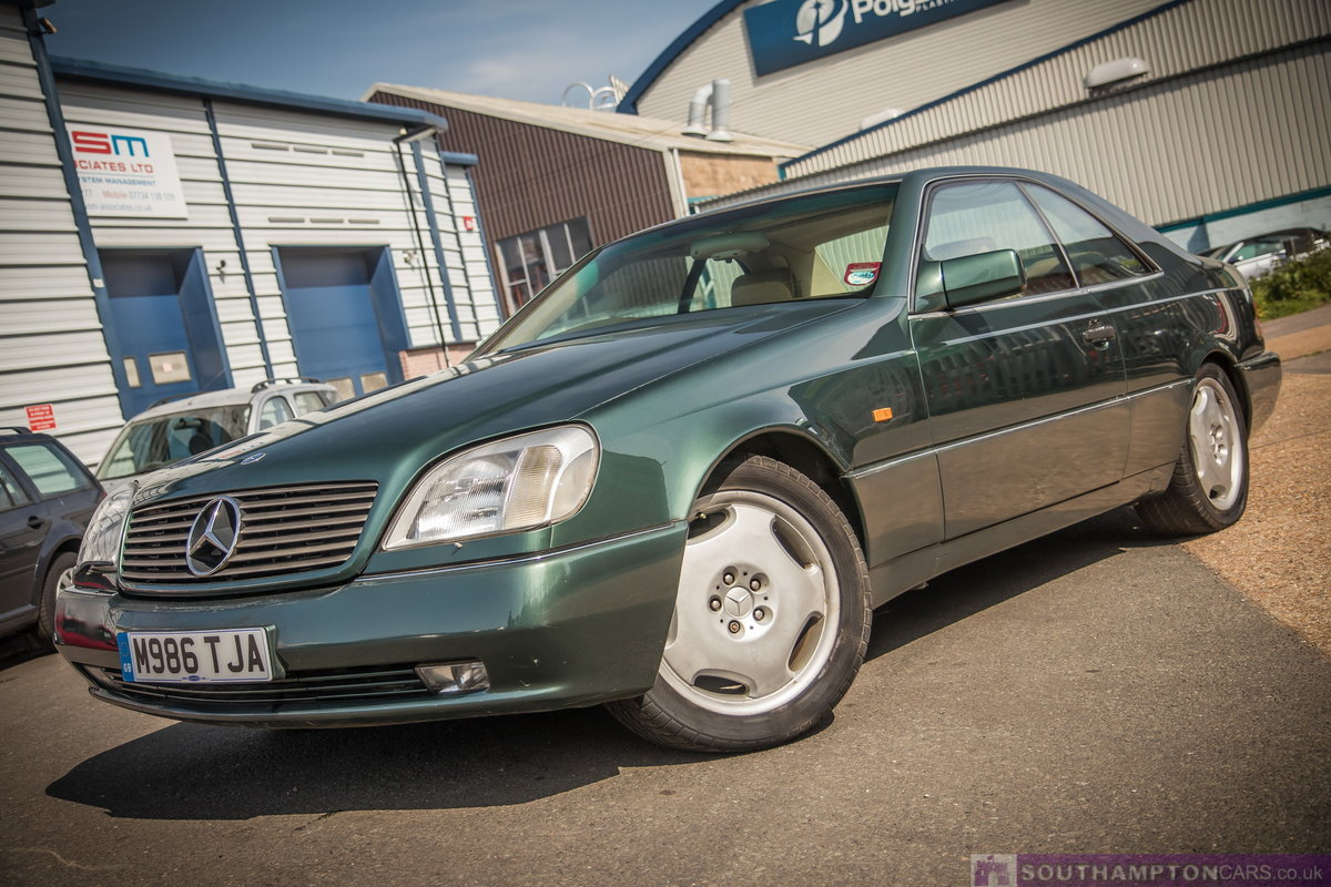 1995 Mercedes-Benz S500 5.0 V8 c140 [315] (cl500 w140) For Sale (picture 4 of 6)